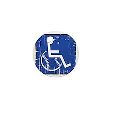 HandicapBaseball Mini Button
