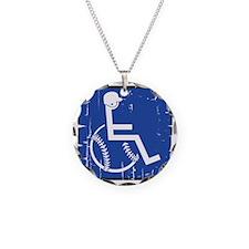 HandicapBaseball Necklace
