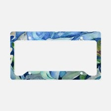 Dolphins and Mermaid party License Plate Holder