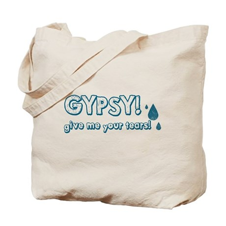 Gypsy Tears Tote Bag