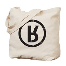 R_Black Tote Bag