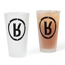 R_Black Drinking Glass