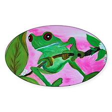 Sassy Frog Decal