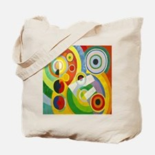 Robert Delaunay Rythme Cubist Tote Bag