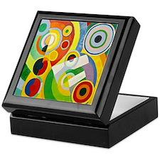 Robert Delaunay Rythme Cubist Keepsake Box