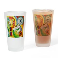 Robert Delaunay Rythme Cubist Drinking Glass