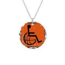 Handicap Basketball Necklace