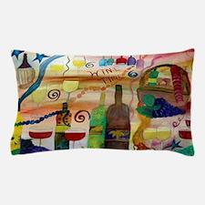 Wine Time Art Pillow Case