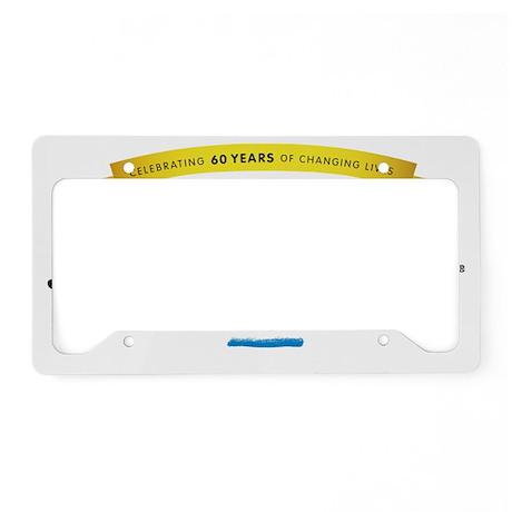 60th anniversary License Plate Holder