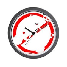 GOLF MALFUNCTIONS white not! Wall Clock
