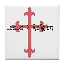 Jeaus  Religion Tile Coaster
