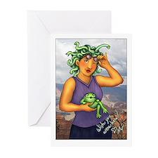 Medusa - Greeting Cards (Pk of 10)