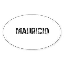 Mauricio Oval Decal