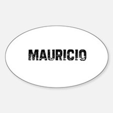 Mauricio Oval Decal