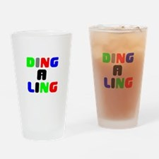 DING A LING! Drinking Glass