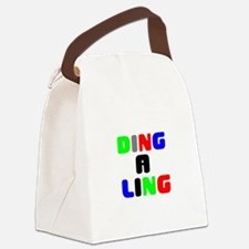 DING A LING! Canvas Lunch Bag