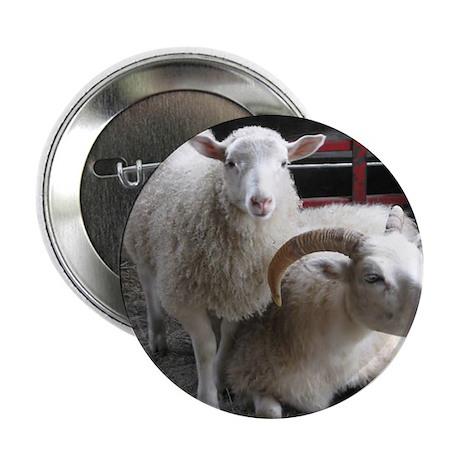 """Sheep! Small bag for ya! 2.25"""" Button"""