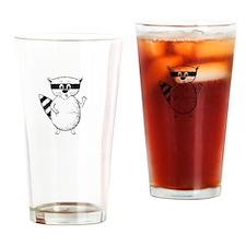 Raccoons Mock Drinking Glass