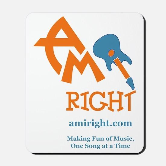 amIright 2013 Logo  Motto Mousepad
