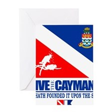 Dive The Caymans Greeting Card