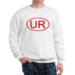 UR Oval (Red) Sweatshirt