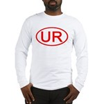 UR Oval (Red) Long Sleeve T-Shirt