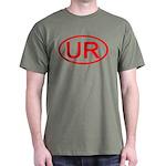 UR Oval (Red) Dark T-Shirt