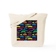 Mustache Retro Tote Bag