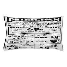 Peter Pan Stores Advertisement - 1932 Pillow Case