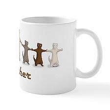 Calico cutouts Mug