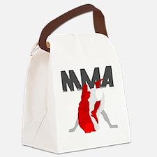 Ground  Pound 1 Canvas Lunch Bag