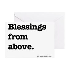 Blessing from above. Greeting Card