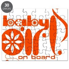Baby girl on Board Puzzle