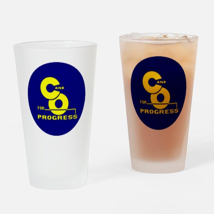 chesapeake and ohio Drinking Glass