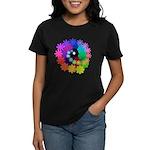 Florescent Art Women's Dark T-Shirt