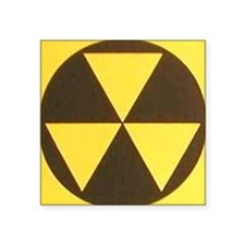 "Fallout Square Sticker 3"" x 3"""