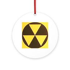 Fallout Round Ornament