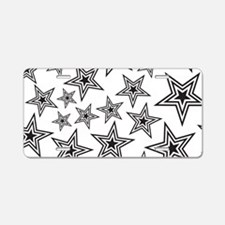 Triple Star Aluminum License Plate