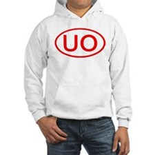 UO Oval (Red) Hoodie