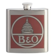 B and O Railroad Flask
