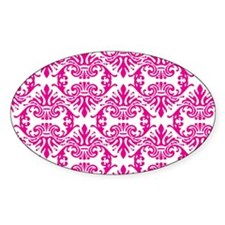 Damask Pink Decal