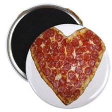 heart pizza Magnet