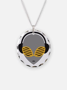 alien_music_head Necklace