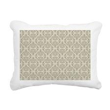 Demask Tope Rectangular Canvas Pillow