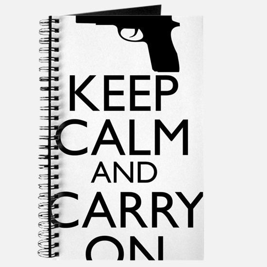 Keep Calm and Carry On Journal