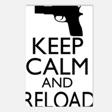 Keep Calm  Reload Postcards (Package of 8)