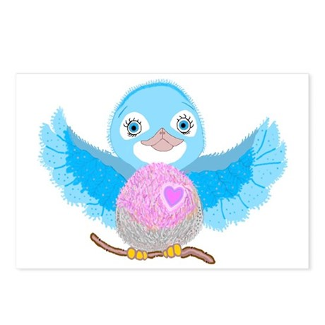 Bluebird Of Happiness Postcards (Package of 8)