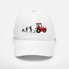 tractor_evolution Baseball Baseball Cap