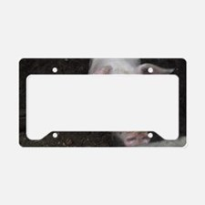 i love pigs License Plate Holder