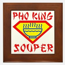 Pho King Souper Framed Tile
